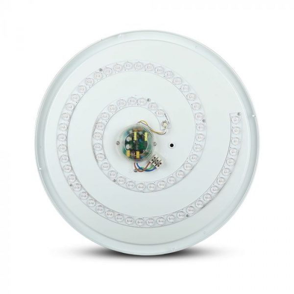 LED Designer Domelight CCT 3in1 30W/60W/30W, Dimmable with Remote Control, IP20