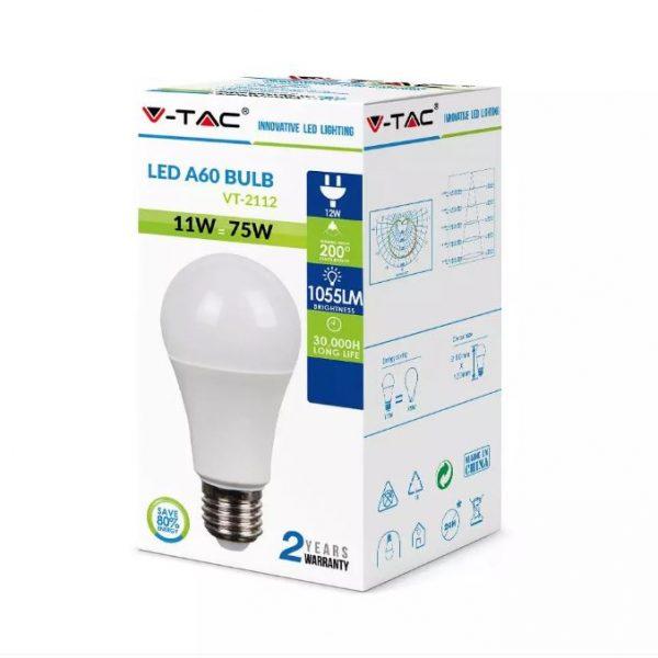 11W Thermal Plastic Bulb A60 E27