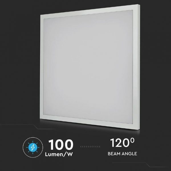 40W LED Panel 2in1 Surface and Recessed Installation 100 LM/W 600x600mm 6pcs Pack