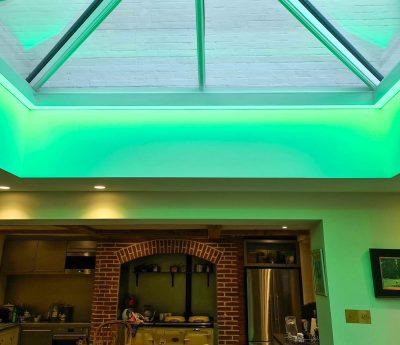 RGB Hehagonal Bespoke Light