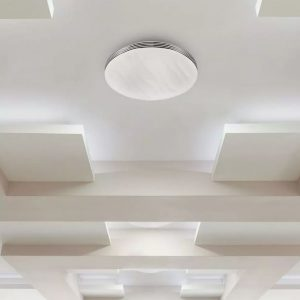 40W LED Dome Light CCT 3in1 Wave Cover Dimmable with Remote Control IP20