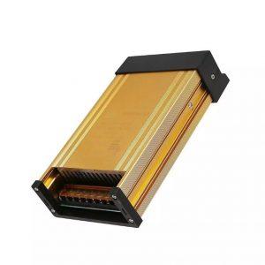 400W LED Metal Power Supply Slim 24V 16.6A IP45