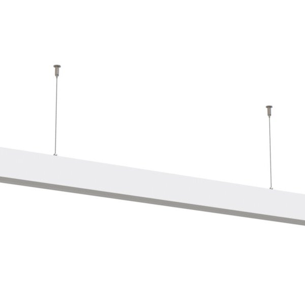 40W LED Linear Suspended Light Linkable 5 Years Warranty White